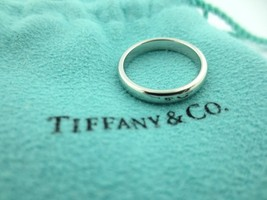 Tiffany & Co Lucida Platino 3mm - $834.73