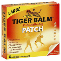 Tiger Balm Pain Relief Patch Convenient Pain Relief For Hours With Minim... - $10.57