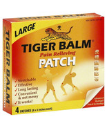 Tiger Balm Pain Relief Patch Strong Penetrating Pain Relief For Back Ach... - $10.67