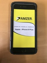 AMZER Exclusive Shell Case Cover With Belt Clip Stand Holster for iPhone 6 Plus - $6.06