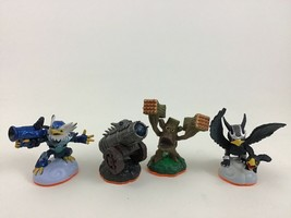 Skylanders Figure Lot Air Jet Vac Life Stump Smash Air Sonic Boom Dragon Cannon - $12.82