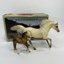 Breyer 3060 Andalusian Chestnut Foal & White Stallion Set of 2 with Orig... - $28.60
