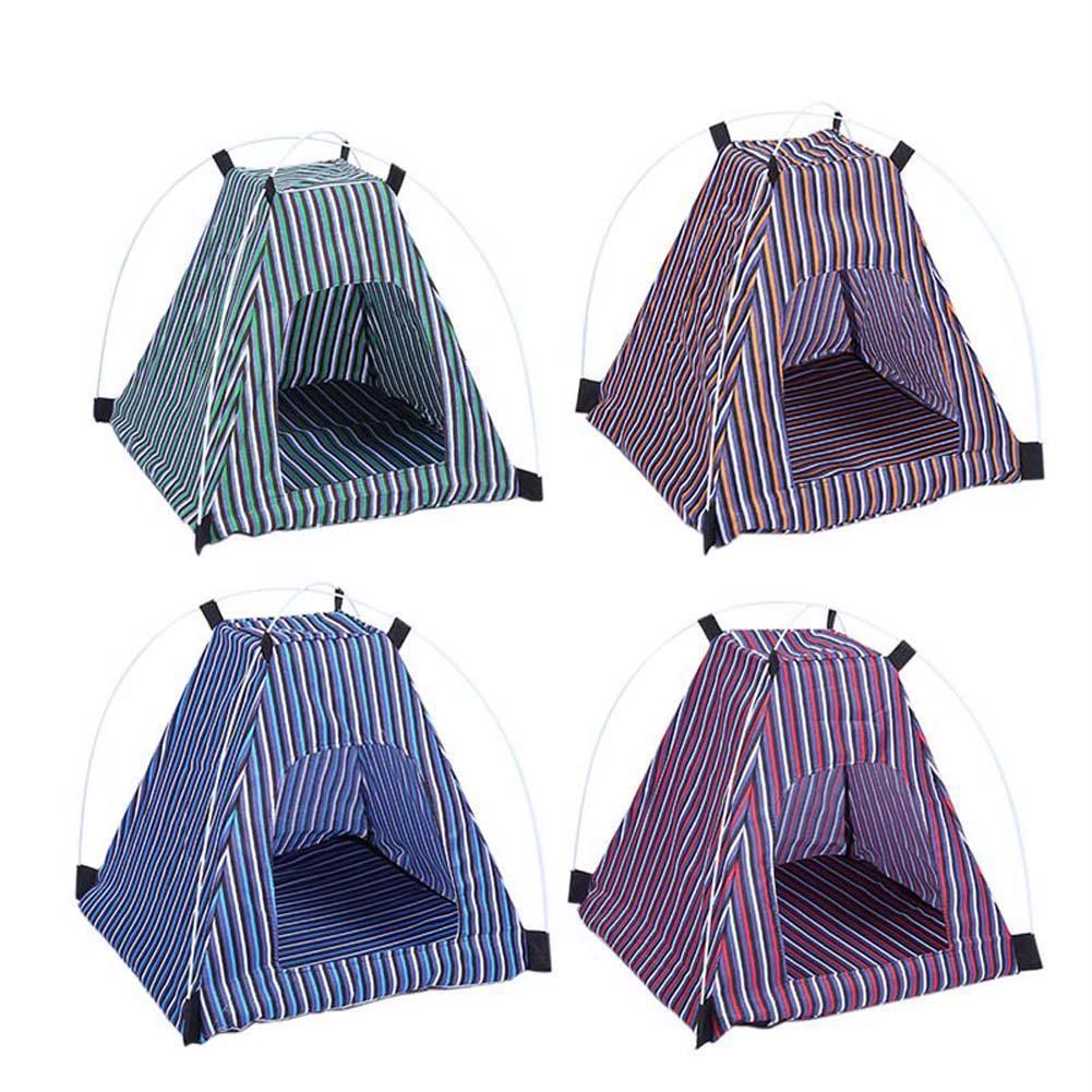 Outdoor Pet Tent Portable Dog House Folding Cat Bed Camping Puppy Travel Dogs