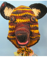 Character Animal Hat Puppy Dog Dutch Shepard Adult Custom Crochet by Bren - $32.00