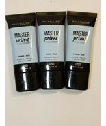 3 MAYBELLINE MASTER PRIME PRIMER HYDRATE + SMOOTH - #050 EXP:  - $14.58