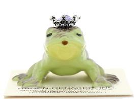 Hagen-Renaker Miniature Frog Prince Kissing Birthstone 06 June Alexandrite image 1