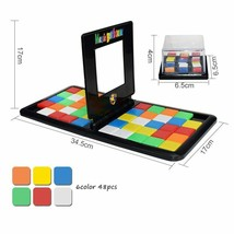 Interactive Puzzle Game Colorful Battle Sport Cube Education Parent Chil... - $16.62