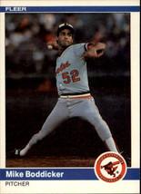 1984 Fleer #1 Mike Boddicker - Baseball Card - $0.80