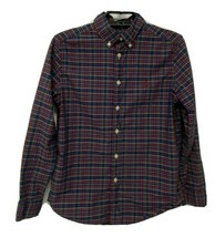Ralph Lauren youth boys shirt plaid long sleeve button front size L 14-16 - $16.82