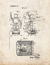 Toy Robot Patent Print - Old Look - $7.95+