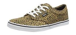 Vans Womens Atwood Low-Top Sneakers Brown (Cheetah Natural) 5 UK - $63.04