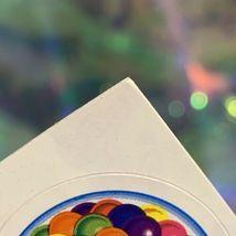 VTG Lisa Frank Complete Sticker Sheet GUMBALL MACHINE! Rare HTF S157 QuickSHIP image 5