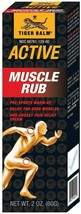 Tiger Balm Active Muscle Rub For Pre sports Warm- Up 60g - $17.24