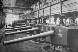 Vikers Works Naval Construction Manufactures Battleship guns and turrets - Art P - $19.99+