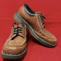 Dr. Martens Air Wair Oxford 8A25 11 M Brown Leather Lace Up Cushioned Sole Shoe - $44.50