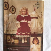 Vogue Doll Craft Pattern 7163 Heirloom Doll Clothes Dress Teresa Layman ... - $14.82