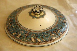 "Wedgwood 1931 Florentine Turquoise Lid For 8"" Covered Bowl #2417 Old Bac... - $90.08"