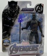 "Hasbro Marvel Avengers Endgame BLACK PANTHER 6"" Action Figure NEW - $14.84"