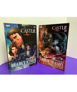 Richard Castle Graphic Novel Storm Season Deadly Storm Hardcover Derrick... - $15.83