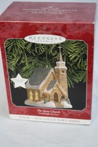 Hallmark Ornaments Magic-New Collector's Series Set of 3 Churches - $41.84