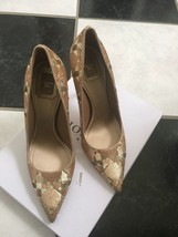 NIB 100% AUTH Christian Dior Cherie Pointy 10CM Sequin Pumps $1150 Sz 38 - $698.00