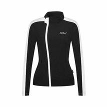 Women's Black Titleist Long Sleeve Polyester Golf Windbreaker Sportswear... - $79.95