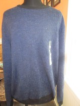 Ck Calvin Klein Pullover Long Sleeve Sweater 40O3466 Size Extra Large Brand New - $19.99