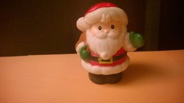 Fisher Price Little People Santa Claus with Brown Bag 2002 Mattel - $6.00