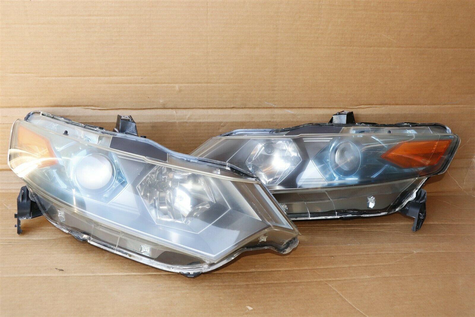 10-11 Honda Insight EX Headlight Lamps Light Set LH & RH