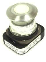 ALLEN BRADLEY 800T-FXP16 A1 PUSHBUTTON W/ WHITE CAP LAMP 755/1866, SER. T image 1