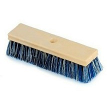 "Pentair Rainbow R111584 10"" Wood Brush with Crimped Bristles - Blue/White - $16.19"