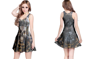 Volbeat stage reversible dress