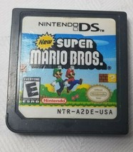 New Super Mario Bros. (Nintendo DS, 2006) Tested Cartridge Only Free Shi... - $11.29