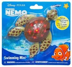 SwimWays Disney Pixar Finding Nemo Squirt Swimming Mini Water Turtle Pool Toy