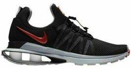 Nike Mens Shox Gravity Trainer Running Shoes Black Red AR1999 016 MSRP $... - $69.95