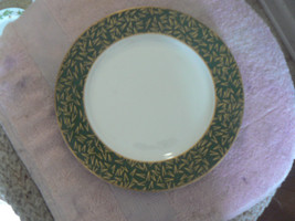 Block salad plate (Creation-green) 4 available - $2.52
