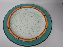 "Treasure Craft Paradise Southwestern Multi Color Dinner Plate 11.5"" - $29.00"