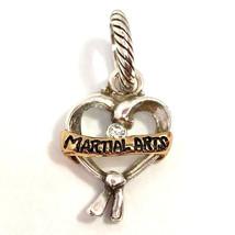 Brighton Artes Marciales Charm, Dos Tonos, J99912 ,Nuevo - $14.94