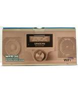 Sangean WFR-20 Wi-Fi Internet Radio Network Music Player - $299.99