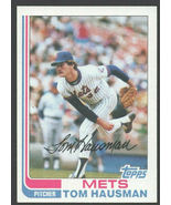 New York Mets Tom Hausman 1982 Topps Baseball Card # 524 nr mt - $0.50