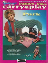 """The Needlecraft Shop """"Fashion Doll Carry & Play"""" Plastic Canvas - Gently... - $10.00"""