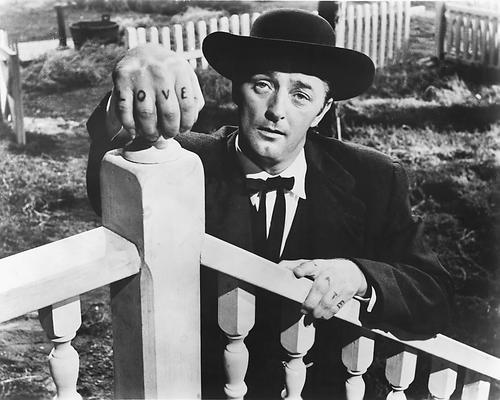 Robert mitchum poster 24x36 night of the hunter