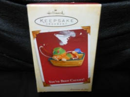 "Hallmark Keepsake ""You've Been Caught"" 2005 Ornament NEW with Memory Card - $3.66"