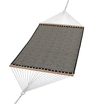 Patio Watcher 14 FT Quick Dry Hammock with Double Size Solid Wood Spread... - $70.76