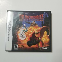 The Incredibles Rise Of The Underminer Nintendo DS Complete w/ Case & Ma... - $11.99