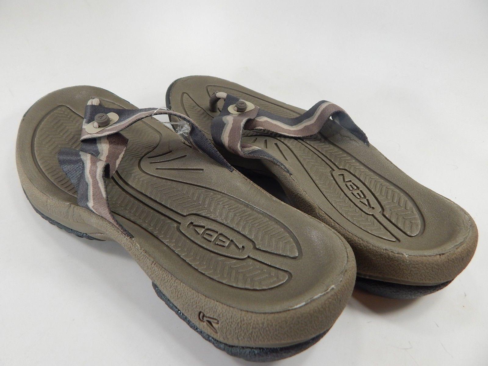 Keen Kona Flip Flop Slip On Sandals Men's Size 9 M (D) EU 42 Bungee Cord / Raven