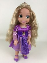 "Disney Princess 14"" Jointed Articulated Toddler Rapunzel Tangled Doll Jakks - $32.62"