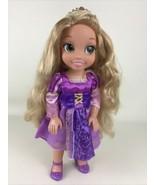 """Disney Princess 14"""" Jointed Articulated Toddler Rapunzel Tangled Doll Jakks - $32.62"""