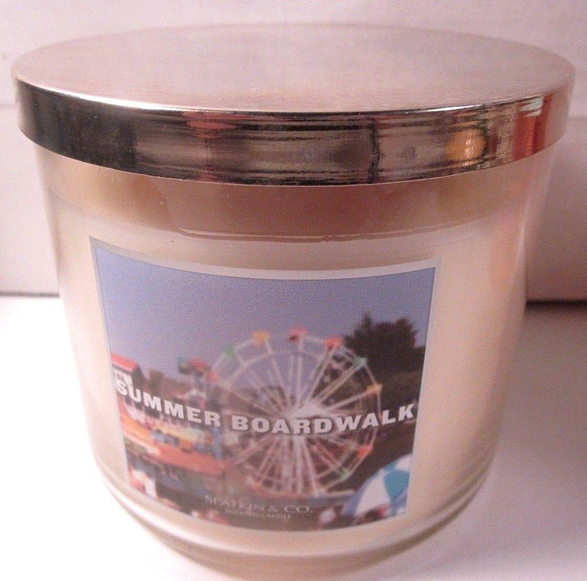 Bath & Body Works 3 wick 14.5 oz Candle Slatkin Summer Boardwalk image 2