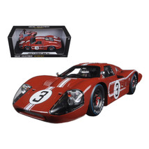 1967 Ford GT MK IV #3 Brown Le Mans 24 Hours M.Andretti / L.Bianchi 1/18... - $81.46